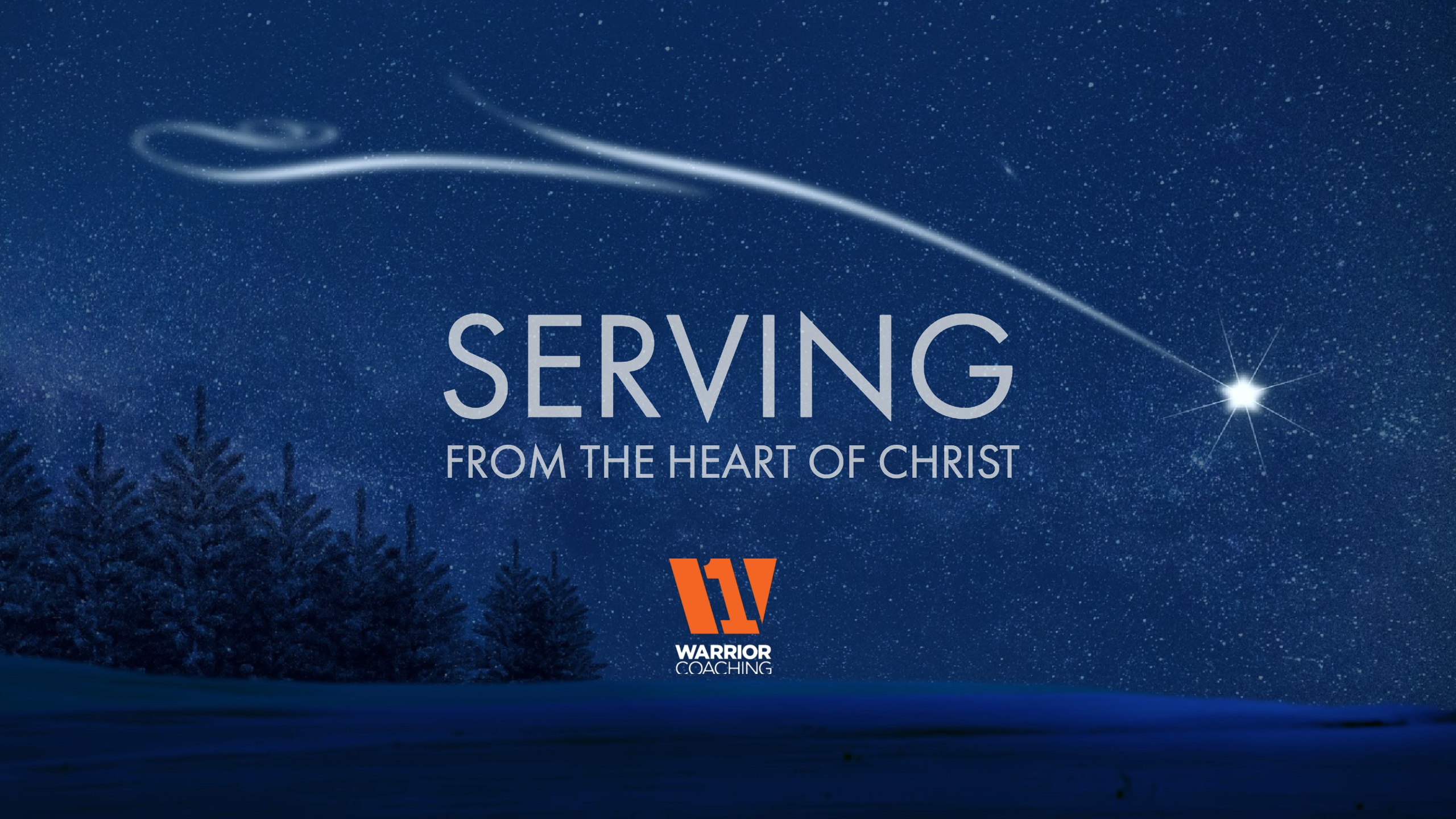 Serving From the Heart of Christ